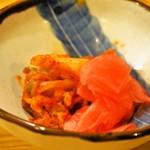 糸末 - キムチ & 蕪の酢漬け