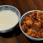 上海柿安 - お粥と麻婆豆腐☆