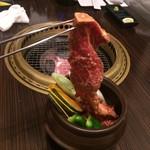 黒川精肉店 - 壺付けカルビ