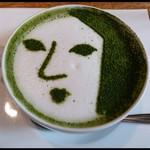 よーじやカフェ - よーじや特製抹茶カプチーノ ¥670