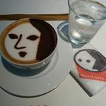 よーじやカフェ - よーじや特製カプチーノ ¥620