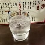 博多麺房 赤のれん - お水 2016.11