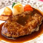 南欧レストラン 河津 - 料理写真:ハンバーグランチ