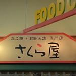 さくら屋 - 店の看板(2016.11)