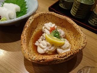 佐勘 梅田店 - 白子ポン酢
