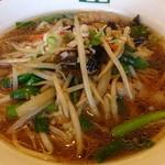 清龍苑 - 豆芽麺(もやしそば)