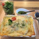 フレックス カフェ - 海老と季節野菜のドリア@850