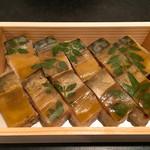 59336155 - 鯖寿司ハーフ¥1200                       コスパもなかなかやと思います(^o^)