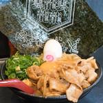 肉玉そば おとど - 2016.11 肉玉そば全部のせ(1,100円)