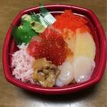 海鮮丼丸 - 北海丼  並盛   540円