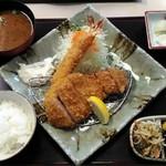 59339466 - 「海老ロースかつ定食」1550円