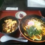 さぬき - 料理写真:麺定食