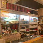 Cafe 実のり - カウンター内