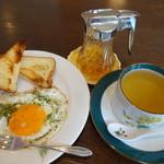ハーブドローゼ - 料理写真:レモングラスシンプルズティー モーニング付