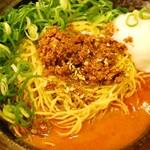 尾道ラーメン 麺屋壱世 - 汁なし担々麺