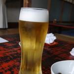 名取亭 - 生ビール