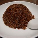 青菜 - 牛肉黒胡麻黒胡椒炒飯(期間限定)