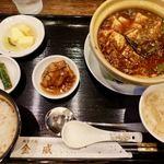 美食天堂 金威 - 四川麻婆豆腐セット 1000円