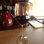 59349424 - グラスワインの赤