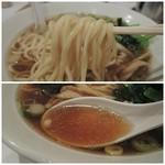 らぁめん ほりうち - 【再訪】らぁめんの麺&スープ