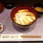 田むら 銀かつ亭 - 豆腐かつ三色丼
