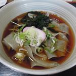 杉乃家 - 料理写真:モロヘイヤうどん420円