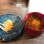 MISO-YA KAMAKURA INOUE - 仙台赤味噌のお味噌汁と試食の副食用奄美の味噌