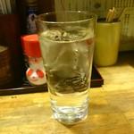 焼鳥 釜飯 次郎 - 芋焼酎水割り
