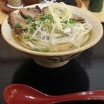 手打うどん長谷川 - 焼豚うどん(大)850円+150円