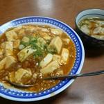 中華料理 哈爾濱 - 料理写真:マーボー丼セット