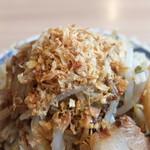 麺屋 ゆう - ガーリックチップ