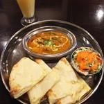 インド料理 INDIA - Aセット850→ランパス500円 +180円でチーズナンに変更
