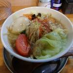 中華そば de 小松 - 彩り野菜たっぷりタンメン