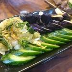 貝つぼ焼 大谷 - お漬け物(全種盛り)