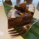 59360470 - 黒豆と栗のケーキ