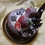 シェ・カワモト - 料理写真:クラシックショコラ4号(12cm)11/27,4周年記念¥1,000