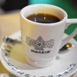 喫茶 マロン - 食後の飲み物2
