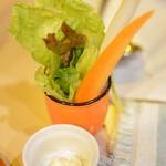 喫茶 マロン - スティックサラダ