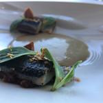 59363501 - 美しすぎる秋刀魚。ニュースの特集になりますね。                       味も一つ一つも凄いけど合わせて食べた時の素晴らしさ!
