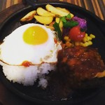 hole hole cafe&diner - ロコモコ(デミグラスソース)