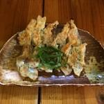 蓮 - 海老にら 餃子(5ヶ)、しそ 餃子(5ヶ)