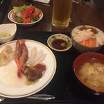 知床グランドホテル 北こぶし - 料理写真:夕食