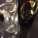 59368654 - 【2016.11】お洒落な日本酒はワイングラスで