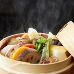 ブラウンライス - 身体の芯から温まる「せいろ蒸し膳」