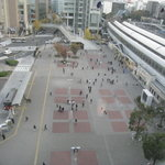 サルーン ヒメル - 窓から望む桜木町駅前