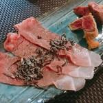 グランブルー - 石垣牛のロースに塩昆布、カツレツ