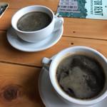 カップス コーヒー&カップケーキ - デッカい器(^ω^)