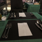 グランブルー - テーブル設え