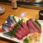 栄寿し総本店 - 2016/11/27       オマカセの刺身