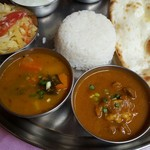 インド料理 MUTHU - サンバル&マトン